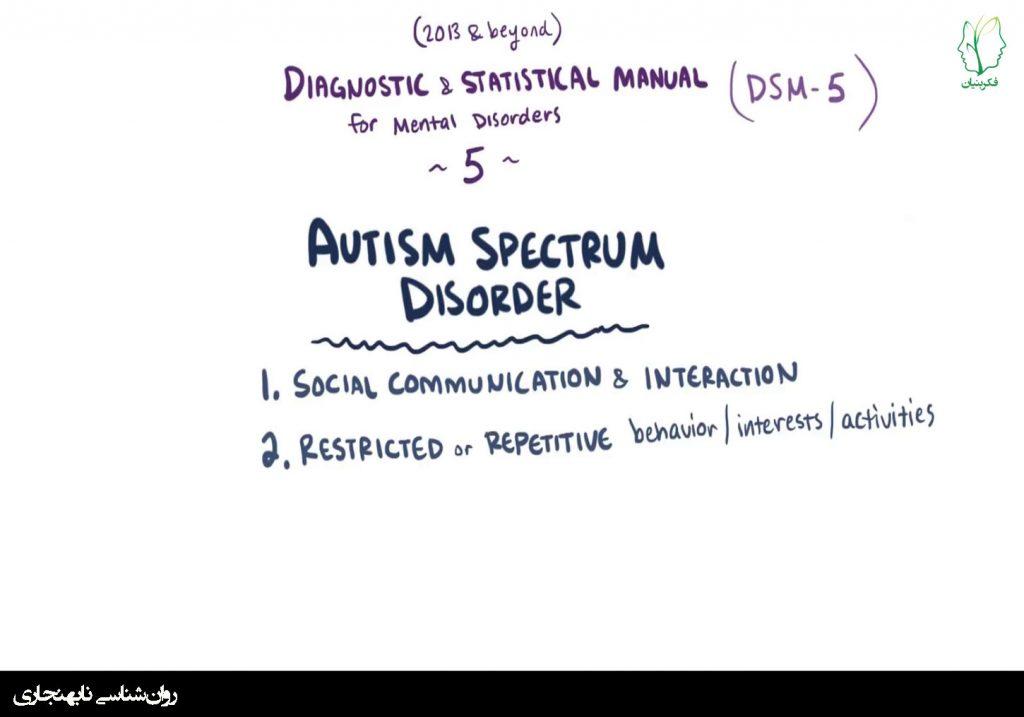 اختلال طیف اوتیسم – علل، علائم، تشخیص، درمان، سبب شناسی