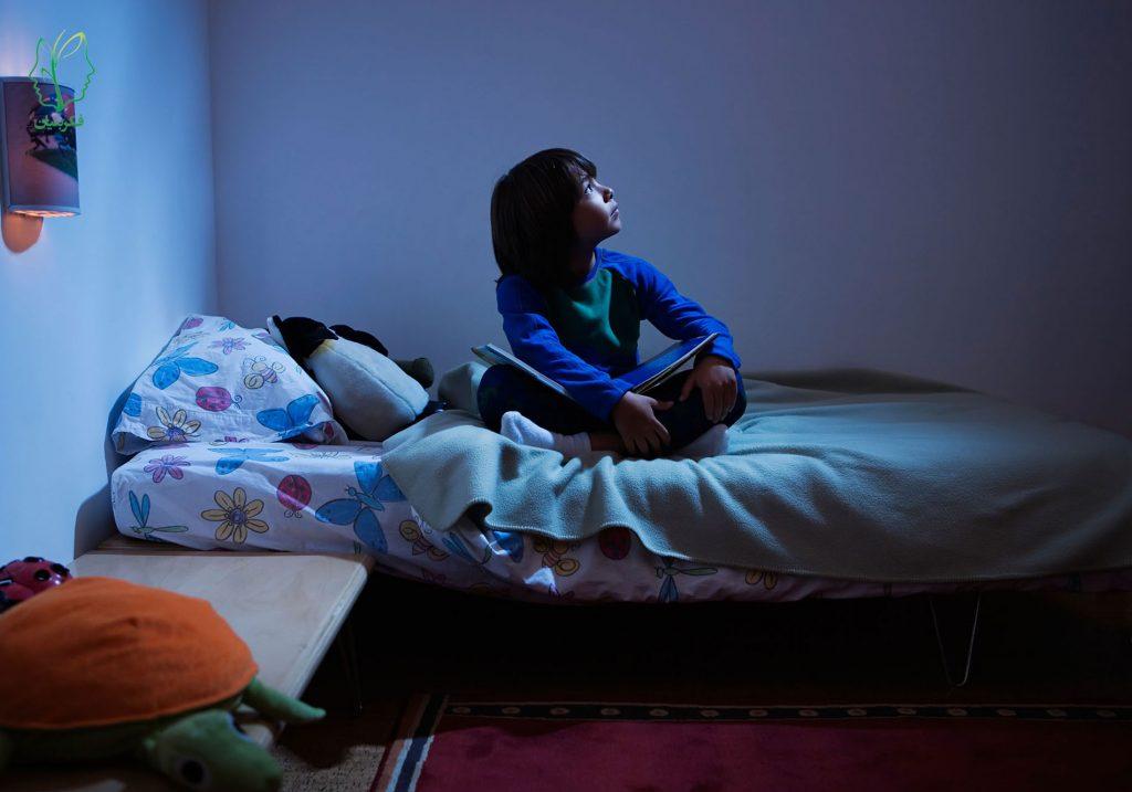 مشکل دیر به خواب رفتن در کودکان