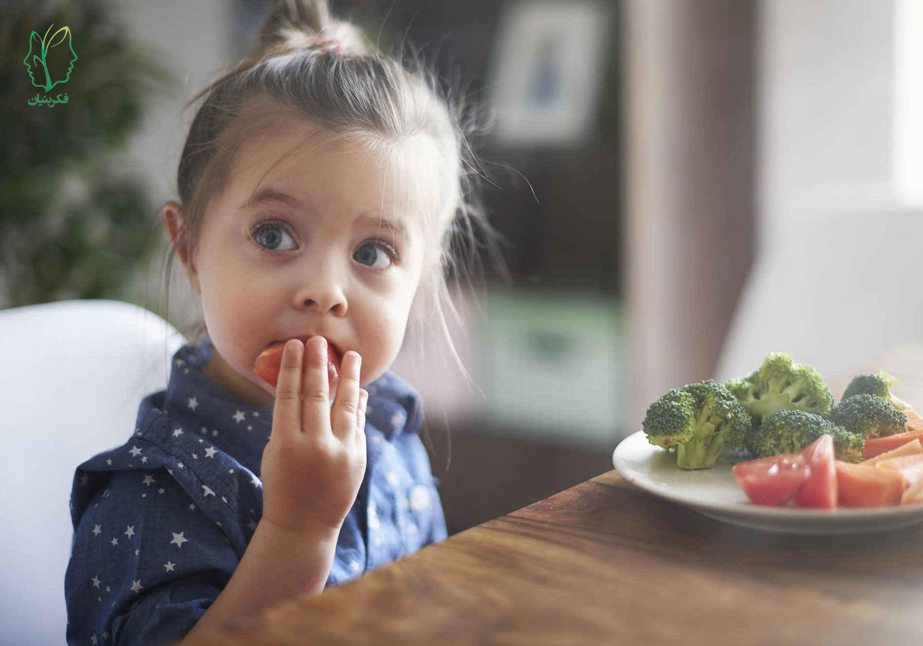 مشکلات تغذیهای که اکثر کودکان هنگام غذا خوردن دارند برای والدین ناراحتکننده و نگرانکننده است