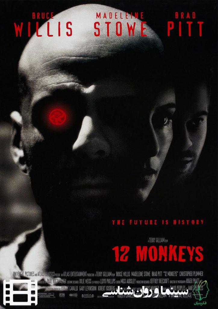 پوستر فیلم دوازده میمون