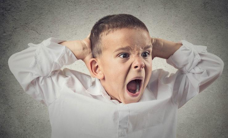 کودک عصبانی و پرخاشگر