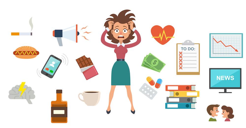تأثیر استرس و اضطراب بر بدن و درمان با کاردرمانی