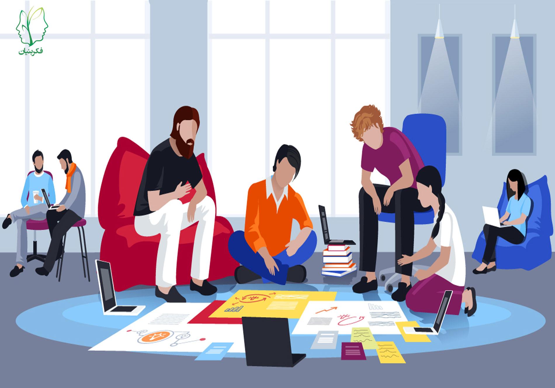 کار گروهی و توصیههایی برای مؤثرتر کردن آن