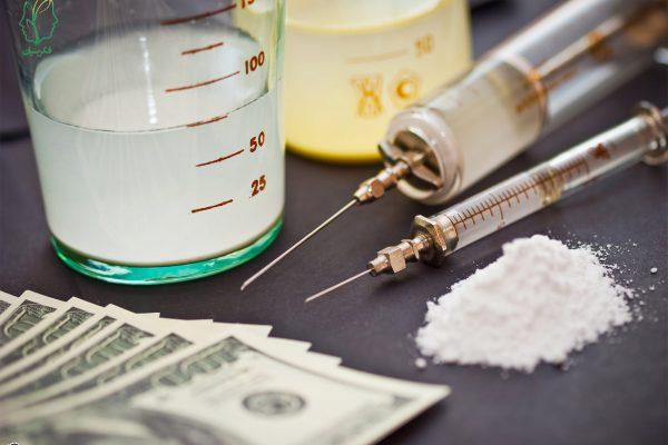 اثر مصرف مواد بر مغز