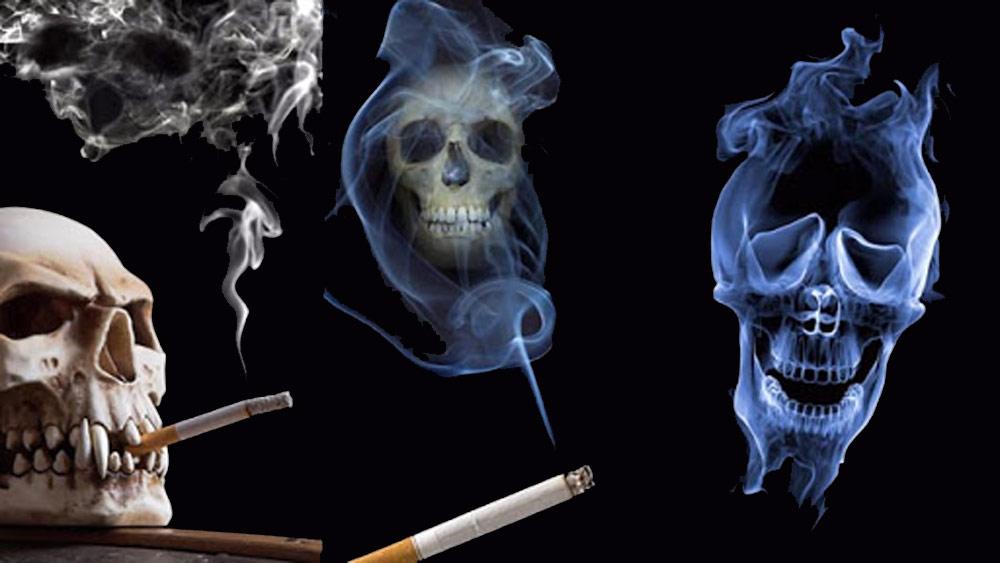 مرگ ناشی از مصرف نیکوتین