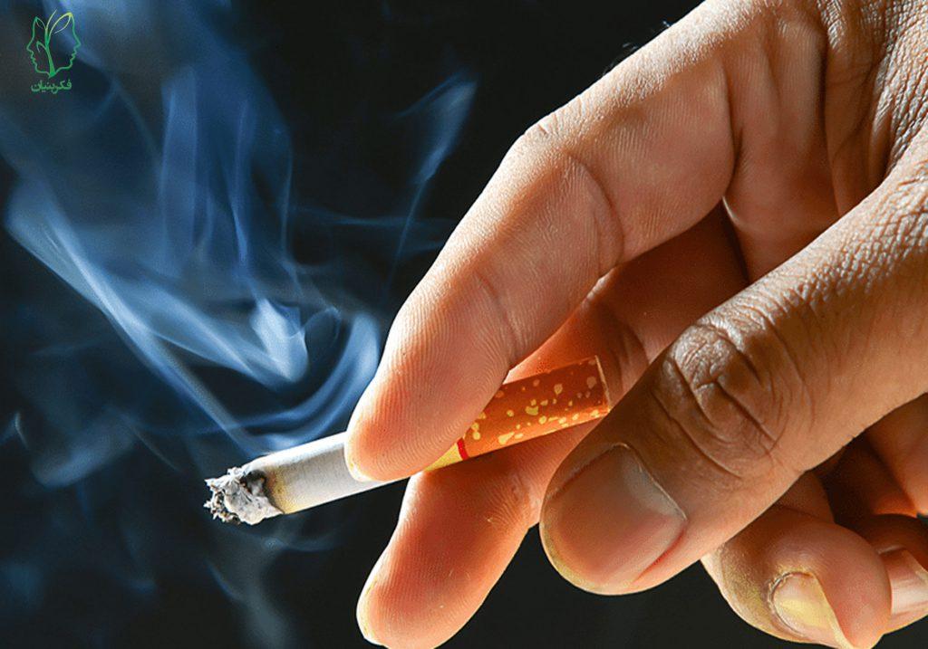 نیکوتین (Nicotine) در دخانیات بر پایه تنباکو (سیگار، قلیان و پیپ)