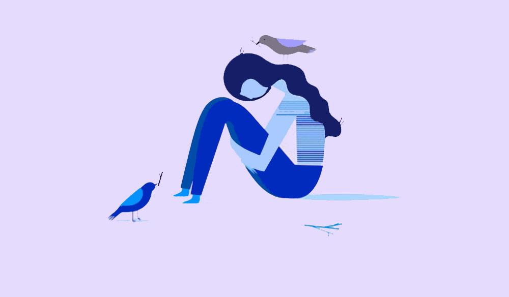 دوری از روی هم انباشته کردن غم و اندوه