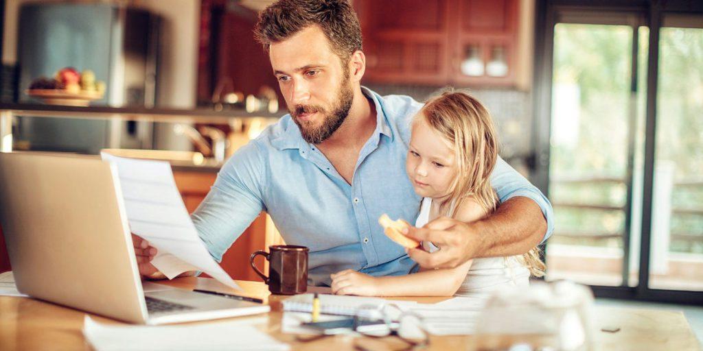 استرس کار در خانه و کرونا