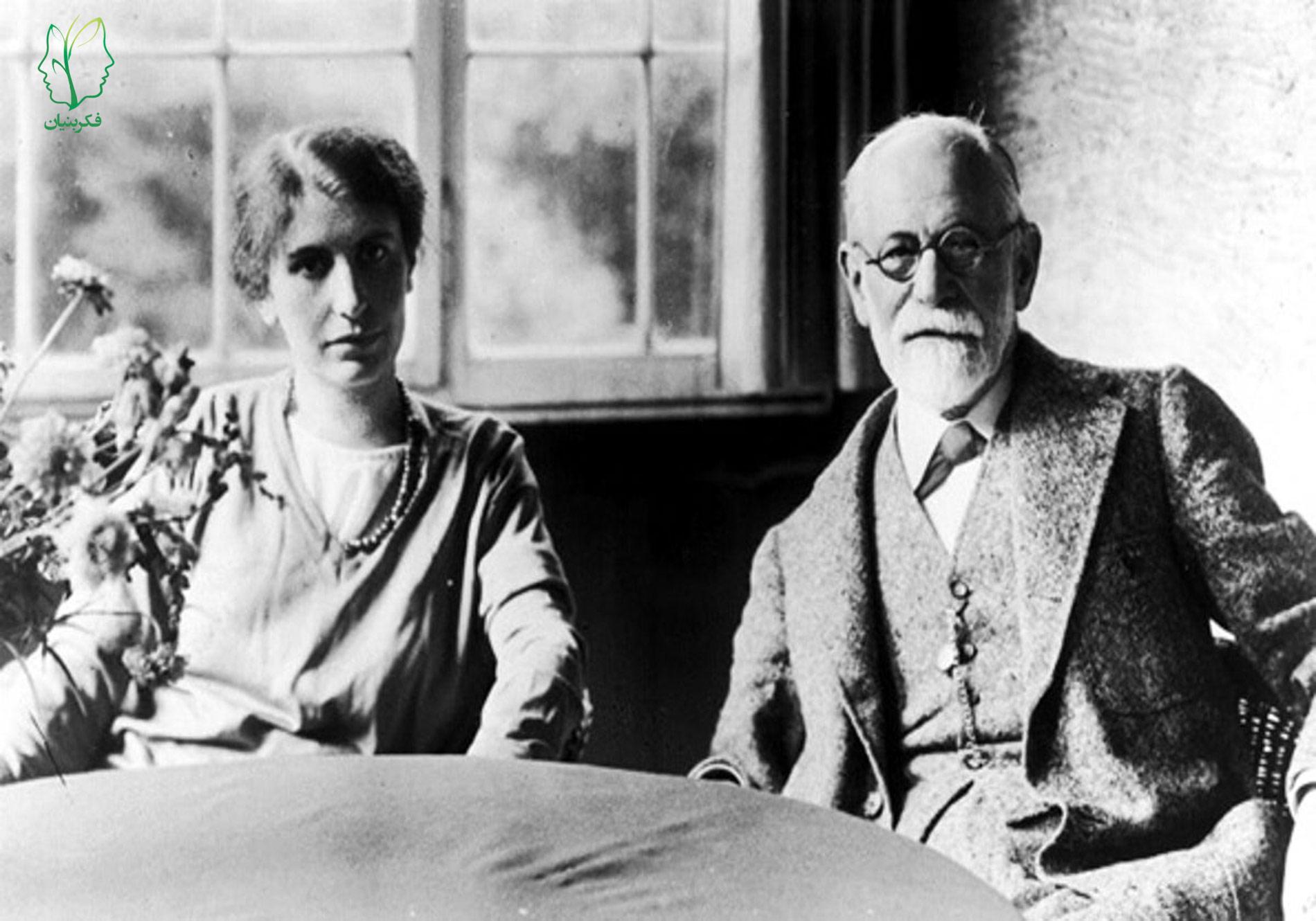آنا فروید و نظریهی وی