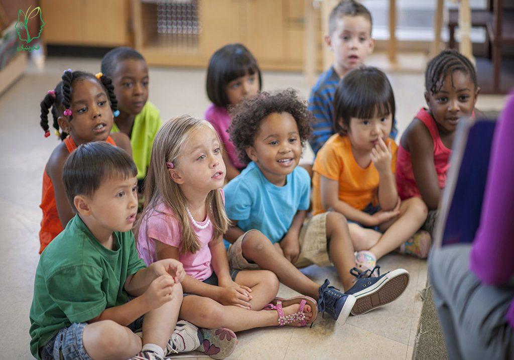 اجتماعی شدن کودکان به سبب رفتن به مهدکودک