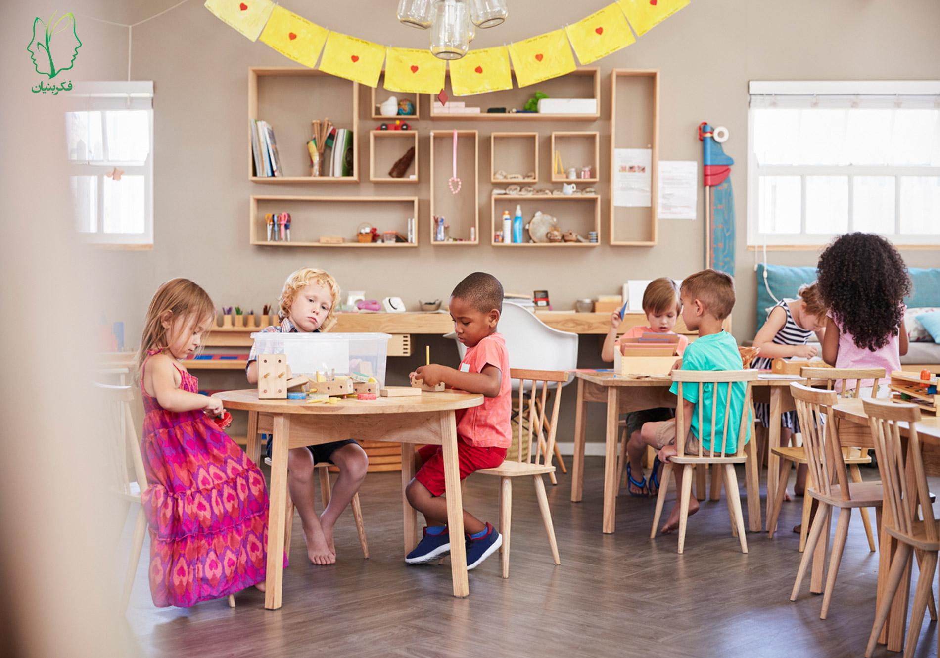 طراحی برنامه برای مهدکودک متناسب با اصول روانشناسی