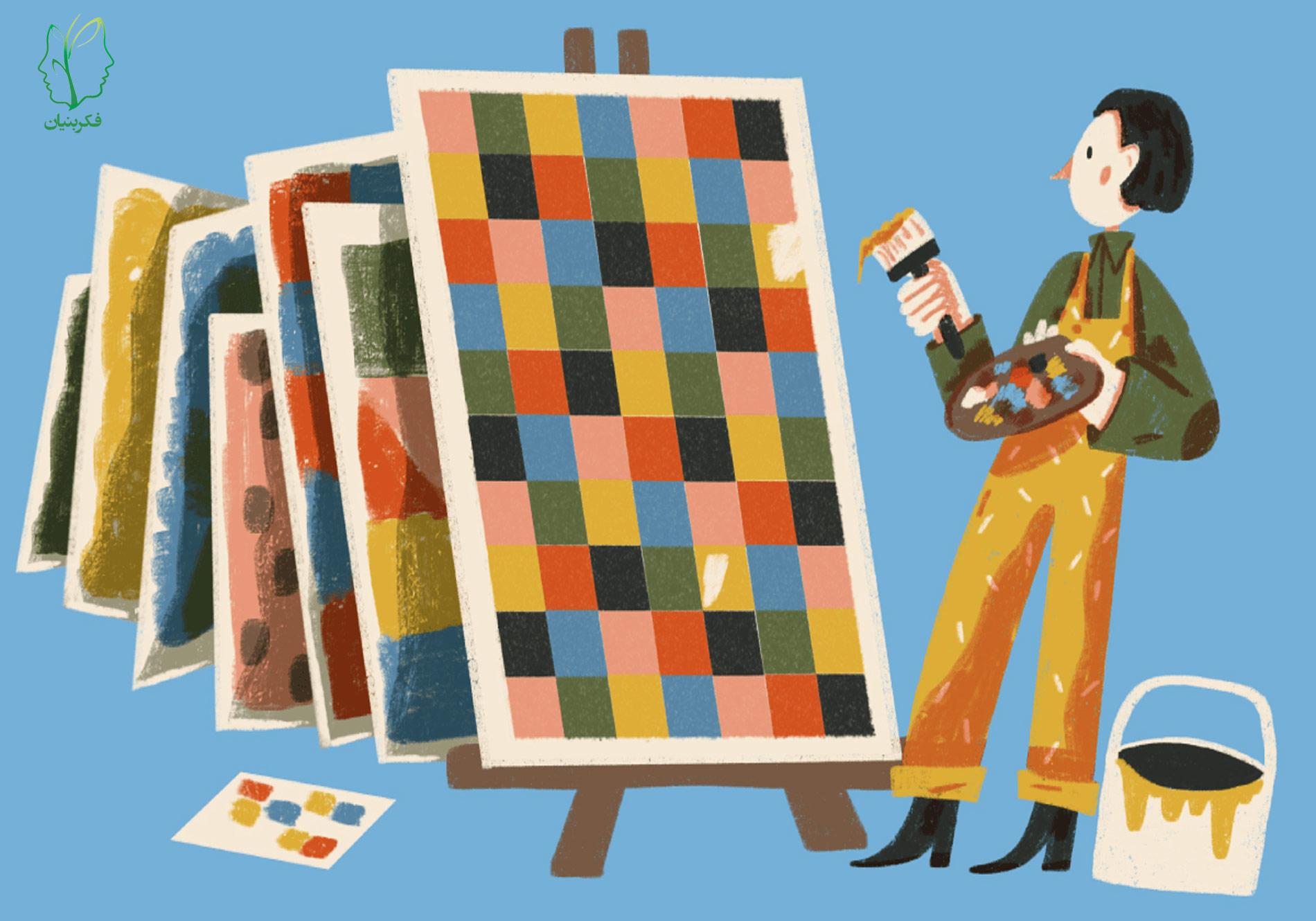 روانشناسی رنگ چیست؟