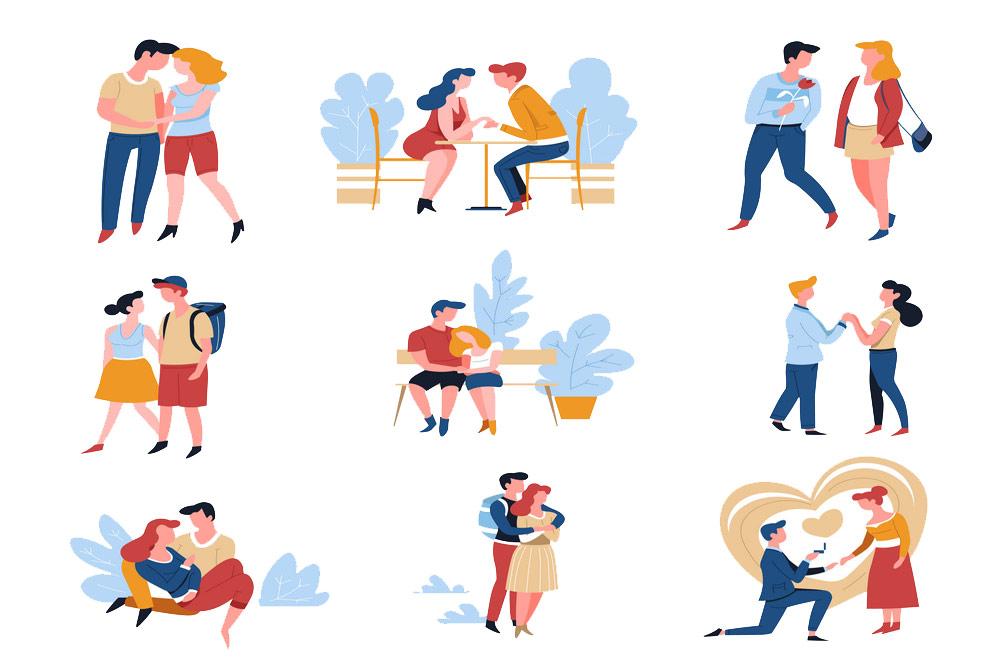 قصههای رایج عشق